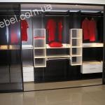 Небольшие гардеробные на заказ фото 9