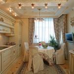 Кухни в дворцовом стиле на заказ фото 8