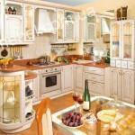 Кухни в дворцовом стиле на заказ фото 6