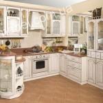 Кухни в дворцовом стиле на заказ фото 7