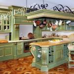 Кухни в дворцовом стиле на заказ фото 1
