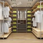 Небольшие гардеробные на заказ фото 16