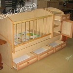 Мебель для новорожденных на заказ фото 13