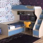 Детская мебель для двоих на заказ фото 22