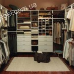 Небольшие гардеробные на заказ фото 24