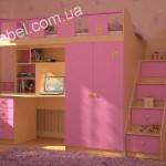 Мебель для девочек на заказ фото 21