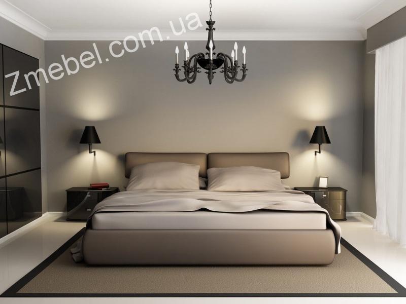 Люстры в интерьере спальни фото