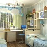 Детская мебель для двоих на заказ фото 32