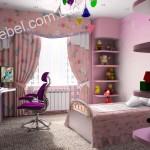 Мебель для девочек на заказ фото 15