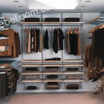 Компактные гардеробные на заказ фото 6