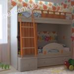 Детская мебель для двоих на заказ фото 5