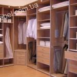 Небольшие гардеробные на заказ фото 12