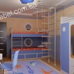 Детская мебель для двоих на заказ фото 13