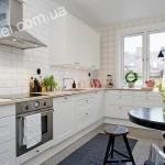 Кухни в скандинавском стиле на заказ фото 11