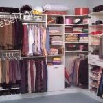 Небольшие гардеробные на заказ фото 27