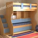 Детская мебель для двоих на заказ фото 25