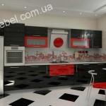 Кухни в стиле хай-тек на заказ фото 41