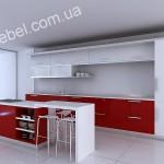 Кухни в стиле хай-тек на заказ фото 51